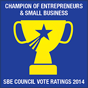 SBE Council's Vote Ratings of the 113th Congress reflect an array of important votes to strengthen entrepreneurship, and the environment for America's small businesses