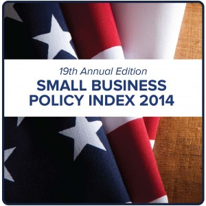 The 19th annual Small Business Policy Index measures the policy environment in the states as to how policies impact entrepreneurship, investment and small business growth.