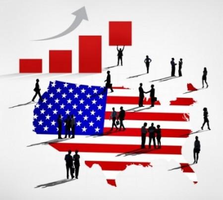USA Business Rising
