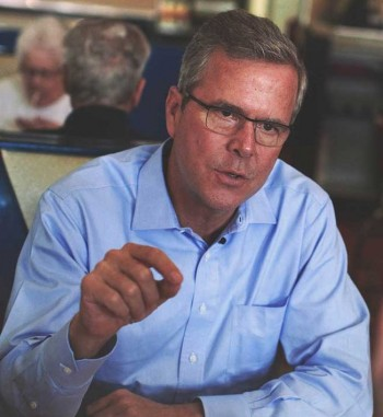 "Jeb Bush, former governor of the Sunshine State, said: ""We made Florida number one in job creation and number one in small business creation."" During his term, 81,000 new small businesses were created in Florida."