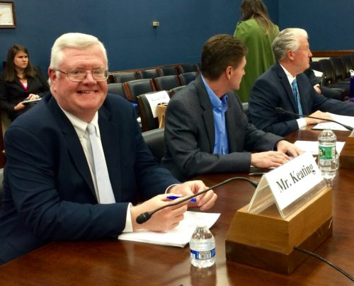 Keating Testifies Before Small Business Committee: Trade has Widespread Benefits for Entrepreneurs and Small Businesses