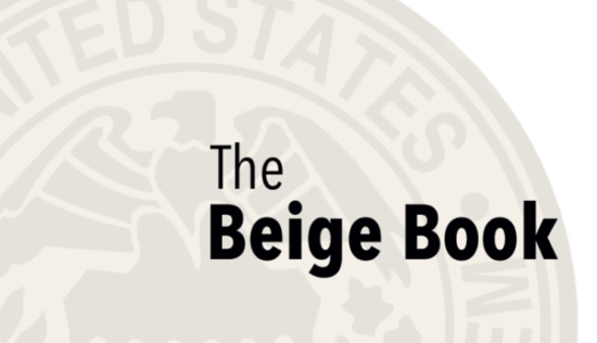 "Fed Beige Book: ""Modestly Favorable Across the Nation"""