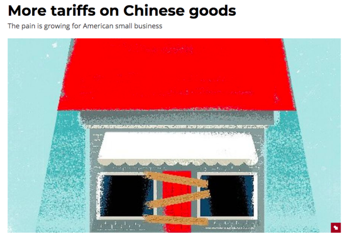 Kerrigan in the Washington Times: The Pain of Tariffs is Real and Growing for Small Businesses